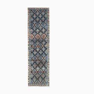Vintage Turkish Handmade Wool Flatweave Rug
