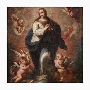 Antique Italian Painting, 18th-Century