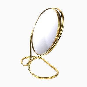 Swivel Mirror with Magnifying Mirror, 1950s