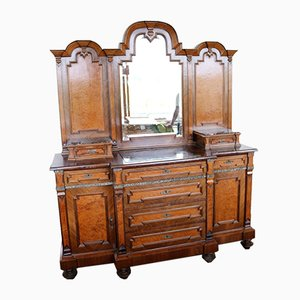 Eclectic Sideboard with Mirror