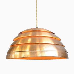 Copper Pendant Light by Hans Agne Jakobsson, 1950s
