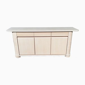 Postmodern Lowboard Credenza by Roberti Rattan, Italy, 1990s