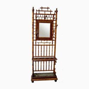 Französische viktorianische Garderobe in Bambus-Optik
