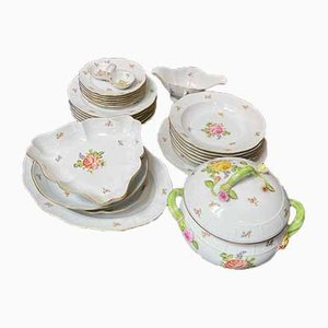 Porcelain Dinner Service for 6 Persons from Herend, Set of 27