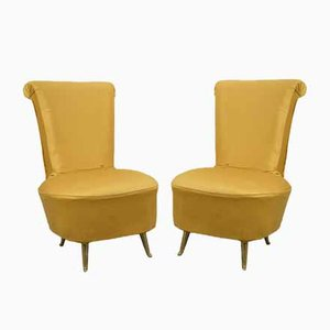 Armchairs by Cesare Lacca, Italy, 1950, Set of 2