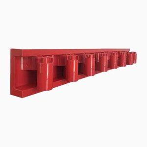 Rote Minivip Garderobe von Benanti und Brunori für Velca, 1977, 2er Set