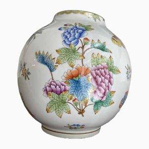 Victoria Porcelain Vase from Herend