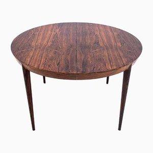 Tavolo da pranzo in palissandro e sedie di Niels Otto Møller, Danimarca, anni '60, set di 7