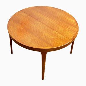 Table de Salle à Manger Mid-Century Moderne en Teck par Ib Kofod-Larsen pour Faarup Møbelfabrik, Danemark, 1960s