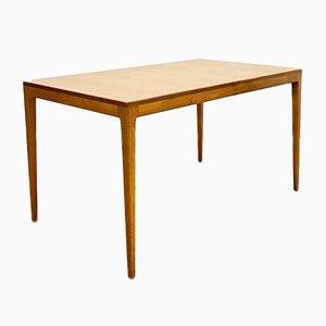 Table de Salle à Manger à Rallonge Mid-Century en Teck et Chêne par Hartmut Lohmeyer pour Wilkhahn, Allemagne, 1960s