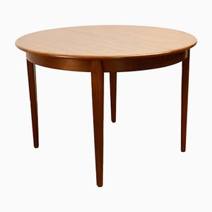 Mid-Century Danish Teak Dining Table from Sighs and Son, Denmark, 1950s