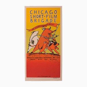 Decorative American Screen Print Film Poster and Art Print, 21st Century