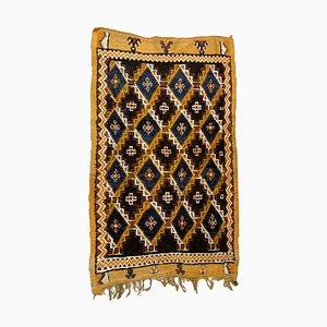 Antique Handmade Moroccan Berber Rug, 1880s