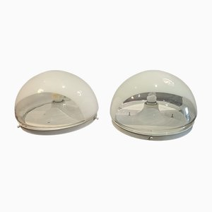Ceiling Lights by Carlo Nason for Mazzega, Set of 2