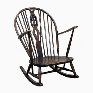 Rocking Chair in Beech from Ercol, 1970s