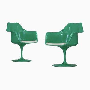 Chaises Pivotantes Tulip par Eero Saarinen pour Knoll Inc. / Knoll International, USA, 1970s, Set de 2