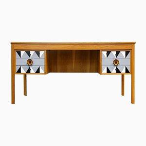 Moderner doppelseitiger Schreibtisch, 1960er