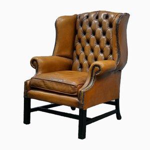 Chesterfield Wingback Armchair, England, 1960s
