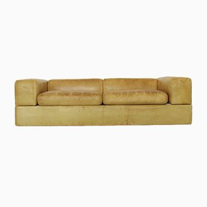 Sofá cama 711 de cuero de Tito Agnoli para Cinova