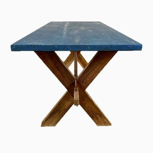 Antique Style Dining Table, Sweden, 1970s