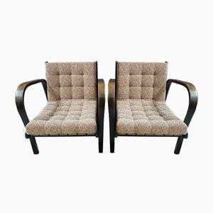 Stühle in Rosa von Antonin Kropacek und Karel Kozelka für Interier Praha, 2er Set