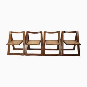 Mid-Century Trieste Stühle von Jacober & Daniello für Bazzani, 1960er, 4er Set