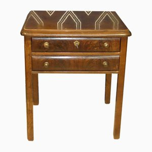 Side Table with Drawers, 1930s