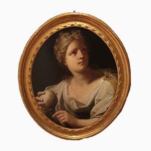 600 Mythological Painting of Ariadne-Luca Ferrari, 1600s, Oil on Canvas