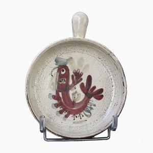 Piatto da portata in ceramica di Gustave Reynaud, Le Mûrier, Francia, anni '60