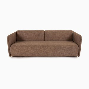 6900 Fabric Cream Leather Three-Seater by Rolf Benz