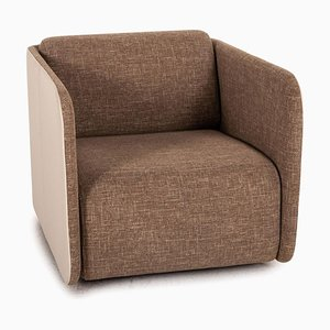 6900 Fabric Leather Armchair from Rolf Benz