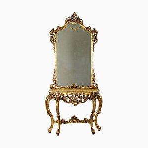 Konsolentisch mit Spiegel