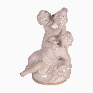 Scultura in ceramica di Minghetti