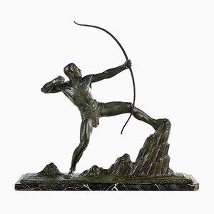 Bronze The Archer by Lucien Gibert