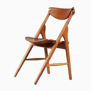 Teak Side Chair, Denmark, 1950s