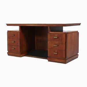 Monumental Italian Executive Desk, 1950s