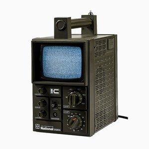 TV vía satélite portátil, años 80
