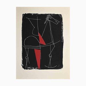 Marino Marini, Round Dance, Serigrafía original, 1963