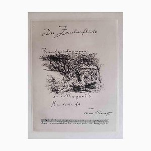Die Zauberflote, Book Illustrated by Max Slevogt, 1924