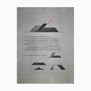 Walter Valentini, Rhind Excavations, Acquaforte originale, 1977