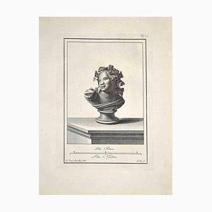 Incisione originale di Carlo Nolli, fine XVIII secolo