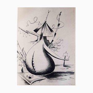 Métiers des Hommes, Book Illustrated by Kurt Seligmann, 1936