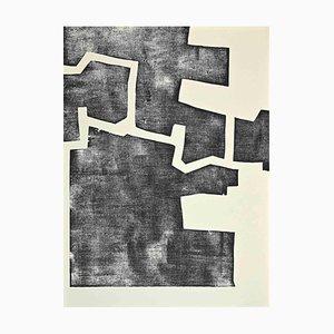 Eduardo Chillida, Composizione, Litografia originale, 1968