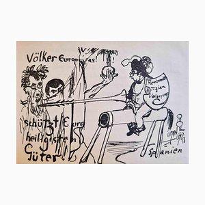Scherz und Laune, Book Illustrated by Léon Spilliaert, 1920