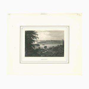 Sconosciuto, Nauvoo, Litografia originale, inizio XIX secolo
