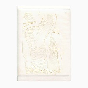 Unknown, Abstract Composition, Original Etching and Drypoint, Mid-20th-Century