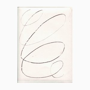 Unknown, Spiral, Original Etching and Drypoint, Mid-20th-Century