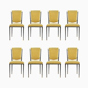 Dining Chairs by Baptistin Spade, 1950s, Set of 8