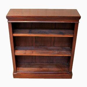 Edwardianisches Offenes Bücherregal aus Mahagoni