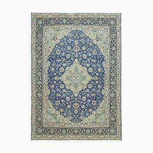 Großer türkischer Vintage Teppich in Beige